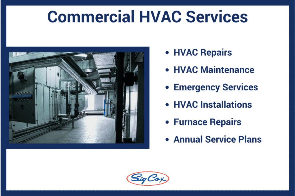All of Sig Cox Commercial HVAC Services in Augusta, GA