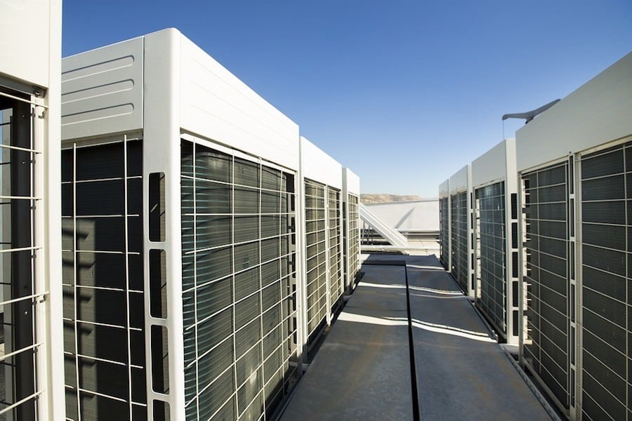 Rooftop Commercial HVAC Units in Evans, GA