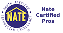Sig Cox HVAC Contractors are NATE Certified Pros