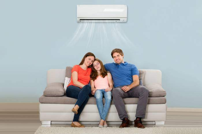 A Happy Customer of Sig Cox comfortable with their new ac split unit