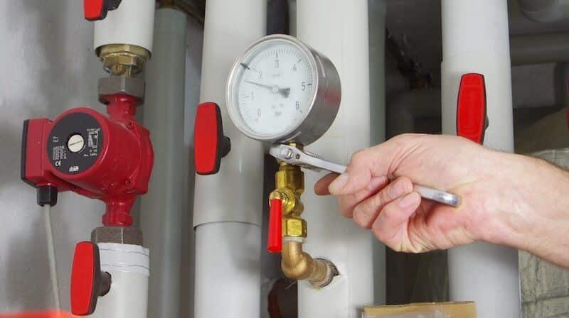 Commercial HVAC Heat Gauge Repair