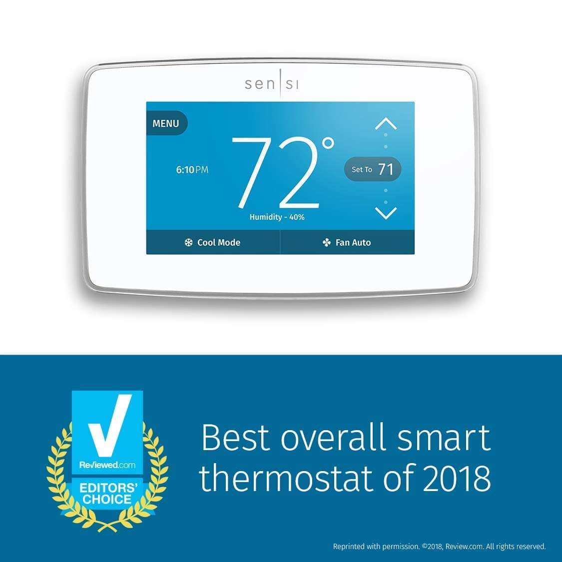 sensi thermostat review