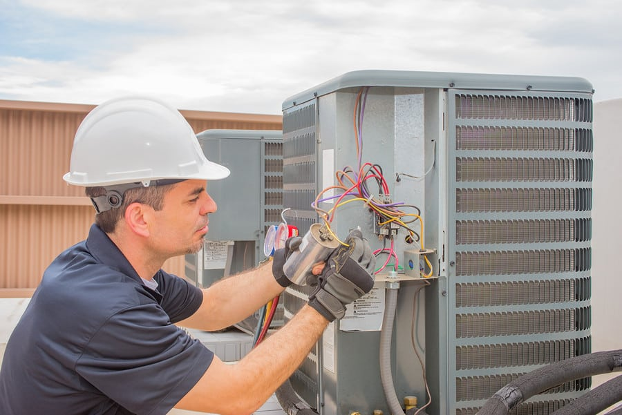 Commercial heating & cooling unit repair in North Augusta, SC