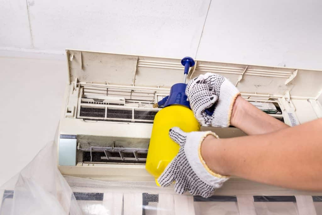 maintaining your air conditioner's filter will make your home healthy and happy this spring